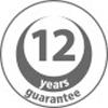 12 jaar garantie