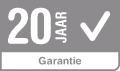 20 jaar garantie